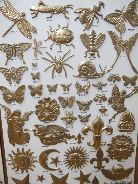 Decorative Stampings Embossed 3 300 Items